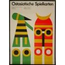 Bielefeld 1970 Ostasiatische Spielkarten (WK 07212)