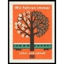 Deutsche Bundesbahn Wir fahren immer sicher und schnell