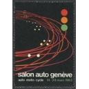 Genève 1963 Salon Auto