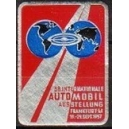 Frankfurt 1957 38. Internationale Automobil Ausstellung