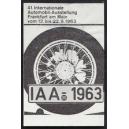 Frankfurt 1963 IAA 41. Internationale Automobil Ausstellung