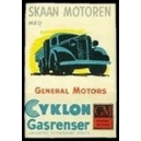 General Motors Cyklon Gasrenser, Skaan Motoren med