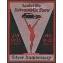 Louisville 1926 Automobile Show Silver Anniversary