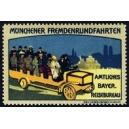 Münchner Fremdenrundfahrten Amtliches Bayr. Reisebureau