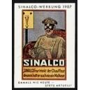 Sinalco Werbung 1907 (Chauffeur)