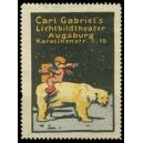 Gabriel's Lichtbildtheater Augsburg (Eisbär)