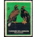 München Tierpark Hellabrunn (2 Adler)