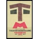 Magdeburg 1927 Deutsche Theater - Ausstellung