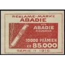 Abadie Serie IV 1916 10000 Prämien (rot)