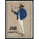 Job Cigarettes (Mann, blaue Jacke)