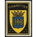 Job Cigarettes (Wappen - blau)