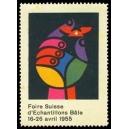 Bâle 1955 Foire Suisse d'Echantillons