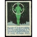 Basel 1913 Elektrizitäts Ausstellung für Haushalt & Gewerbe
