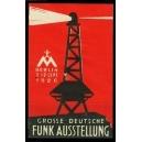 Berlin 1926 Grosse Deutsche Funk Ausstellung
