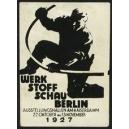 Berlin 1927 Werk Stoff Schau