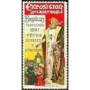 Bruxelles 1897 Exposition Internationale (Frau - mehrfarbig)
