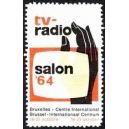 Bruxelles 1964 Salon tv - radio