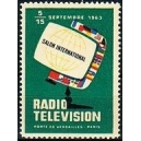 Paris 1963 Salon International Radio Television