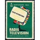 Paris 1963 Salon International Radio Television
