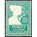 Perutz Plattenentwickler (grün/weiss)