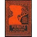 Perutz Plattenentwickler (rot/schwarz)