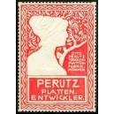 Perutz Plattenentwickler (rot/weiss)
