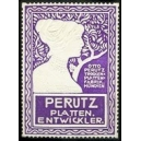 Perutz Plattenentwickler (violett/weiss)