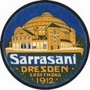 Sarrasani Dresden 1912 Eröffnung (WK 01 - blau)