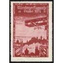 Nürnberg 1912 Flugwoche (Var A - rotbraun)
