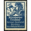 Nürnberger Trichter Carneval - Gesellschaft (blau)