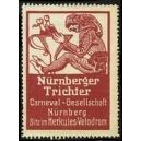 Nürnberger Trichter Carneval - Gesellschaft (rotbraun/02)