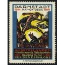 Darmstadt 1914 Ausstellungen Mathildenhöhe Deutsche Kunst