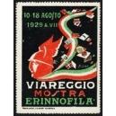 Viareggio 1929 Mostra Erinnofila (WK 01)