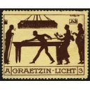 Graetzin Licht A 3 (Billard)