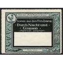 Pathé Frères Durch Nacht und Grauen (Serie von 6 Marken)