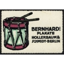 Hollerbaum & Schmidt Berlin Bernhard Plakate (Trommel)