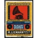 Liemann Berlin Sprechmaschinen Schallplatten