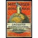 Mathäser-Bräu München (WK 01 - Weltkugel)