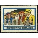 Mathäserbräu-Bierhallen (WK 02 - 6 Personen mit Humpen)